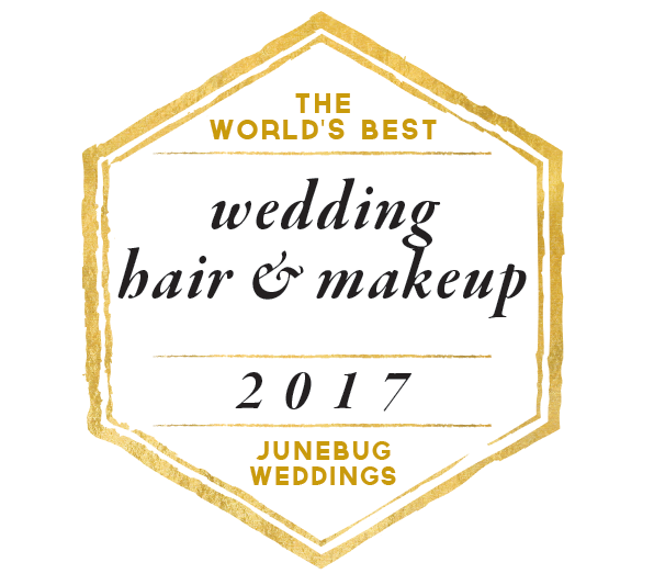 Junebug Weddings - The World's Best Wedding Hair & Makeup