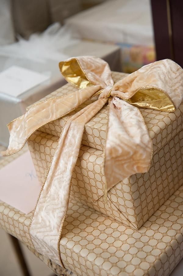 Wrapped Wedding Gifts Photo By Houston Based Wedding Photographer