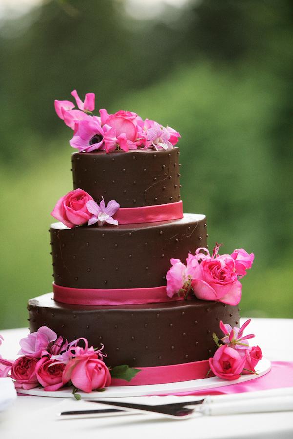 dark pink cake & dessert wedding inspiration | Wedding Inspiration ...