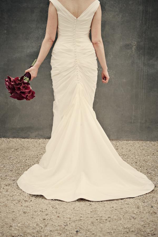 Colorful Mermaid Style Wedding Dresses
