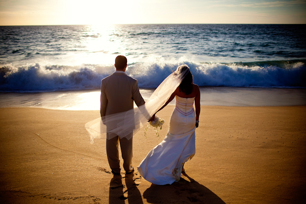 Beach Wedding Photo By Destination Wedding Photographer Ben