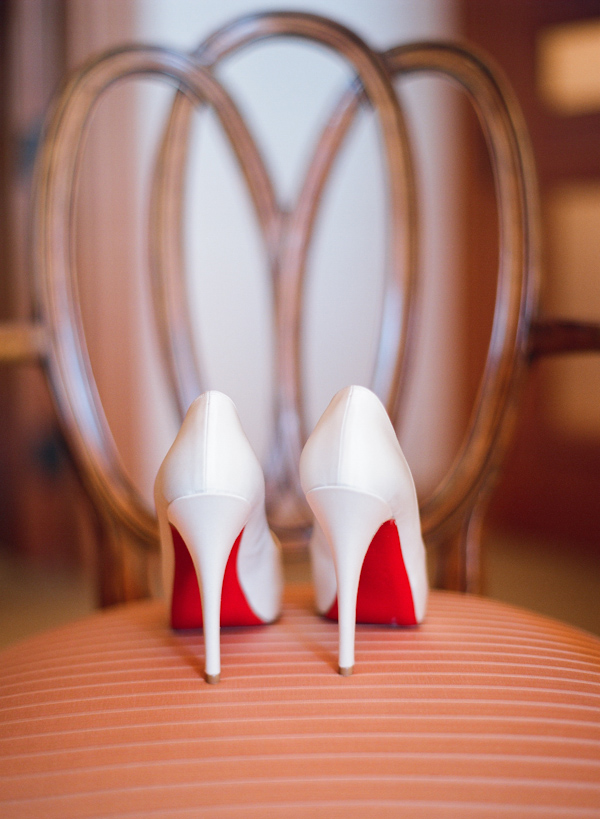 the latest 50a7e 98417 white christian louboutin wedding shoes wedding photo by ...