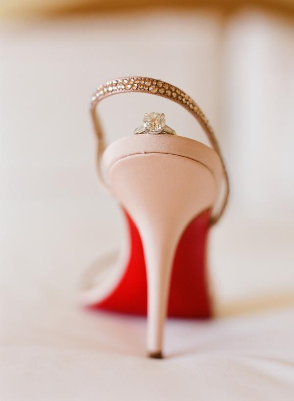 buy popular 975e5 899a5 christian louboutin wedding shoe wedding photo by Elizabeth ...