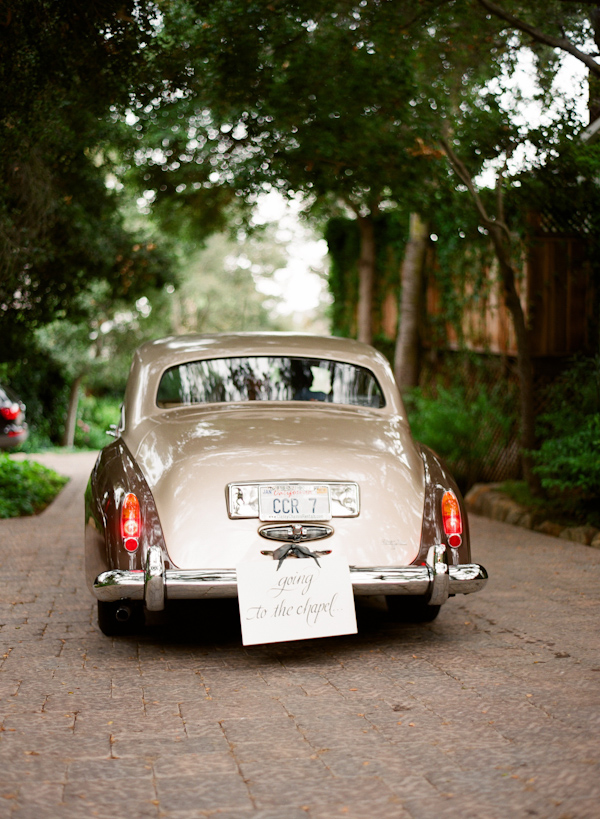 real wedding- getaway photo by Los Angeles photographer Elizabeth Messina
