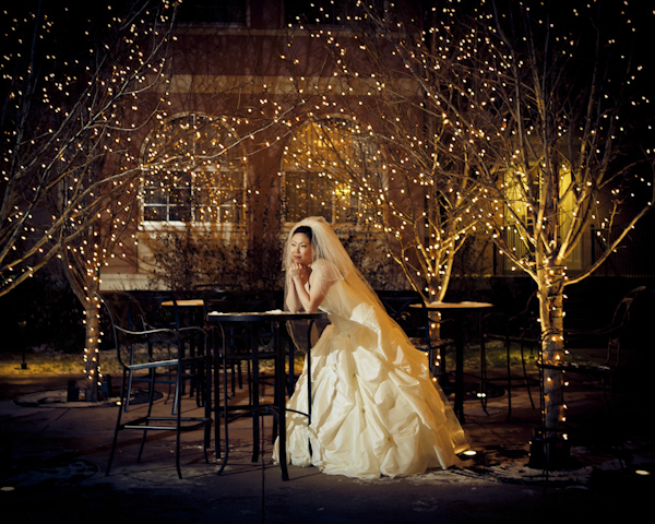 fashion portrait of bride - wedding photo by top Denver based wedding photographer Hardy Klahold