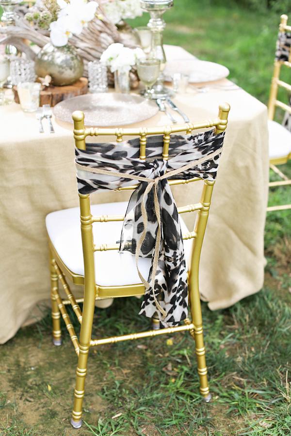 Animal Print Wedding Reception Seating Arrangement Safari Styled Shoot Inspiration Photo By Kay English