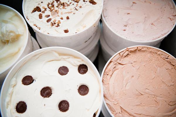 Reception Alternative Dessert Detail Ice Cream Real Wedding