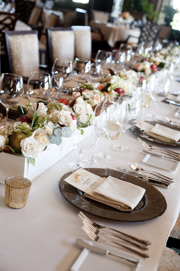 reception seating - wedding photo by top South Carolina wedding photographer Leigh Webber