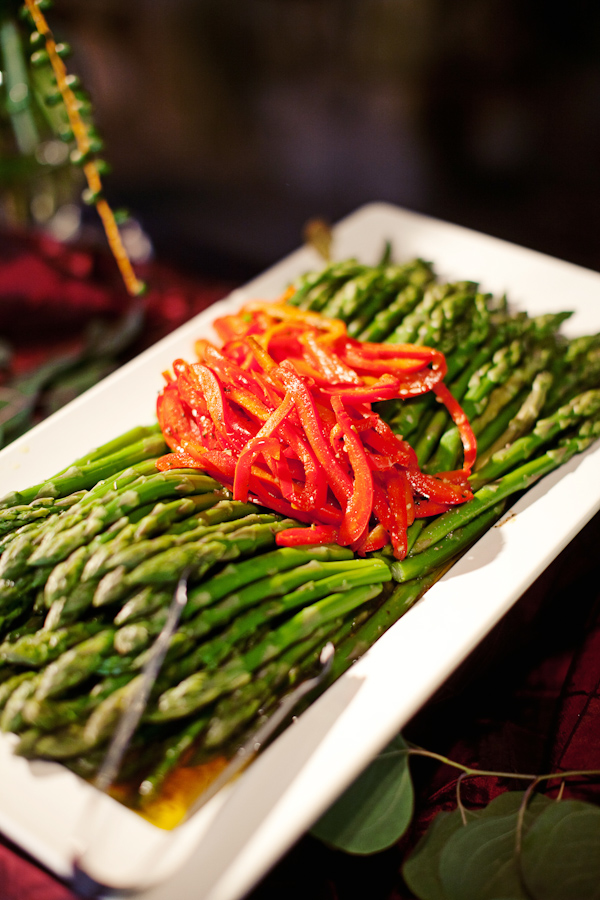 Reception Catering Details Asparagus Platter Photo By Southern