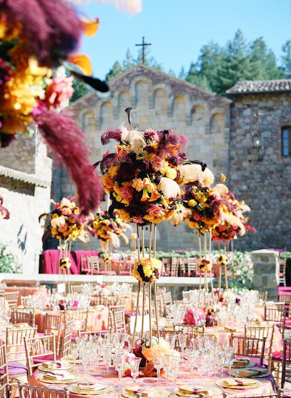 Summer Wedding Centerpieces Wedding Reception Photo By Meg Smith