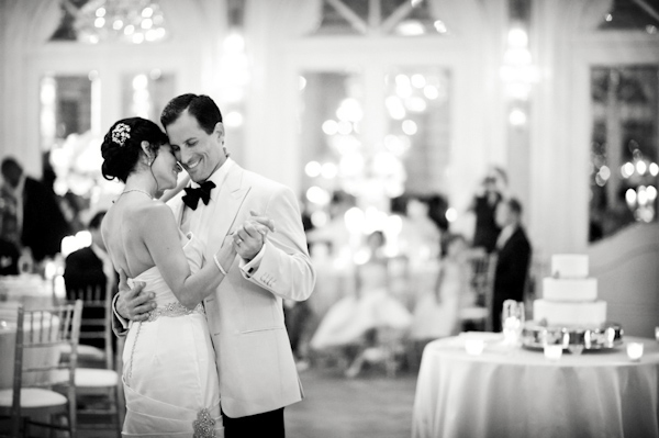 couple first dance - wedding photo by top Atlanta-based wedding photographer Scott Hopkins Photography