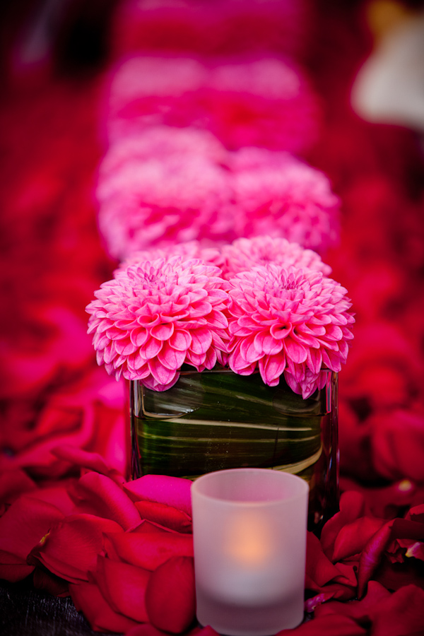 Hot pink floral centerpieces photo by new mexico based wedding hot pink floral centerpieces photo by new mexico based wedding photographers twin lens images mightylinksfo