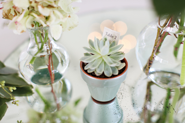 Elegant flowers for centerpieces at wedding reception - Wedding Photo by Whitebox Weddings