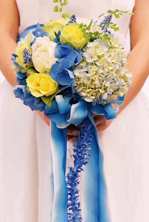 Yellow and blue wedding bouquet photo by yvette roman photography yellow and blue wedding bouquet photo by yvette roman photography mightylinksfo