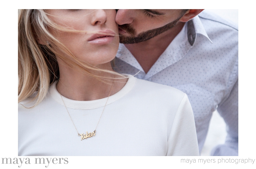 Best Engagement Photo of 2014 - Maya Myers of Maya Myers Photography - California wedding photographer