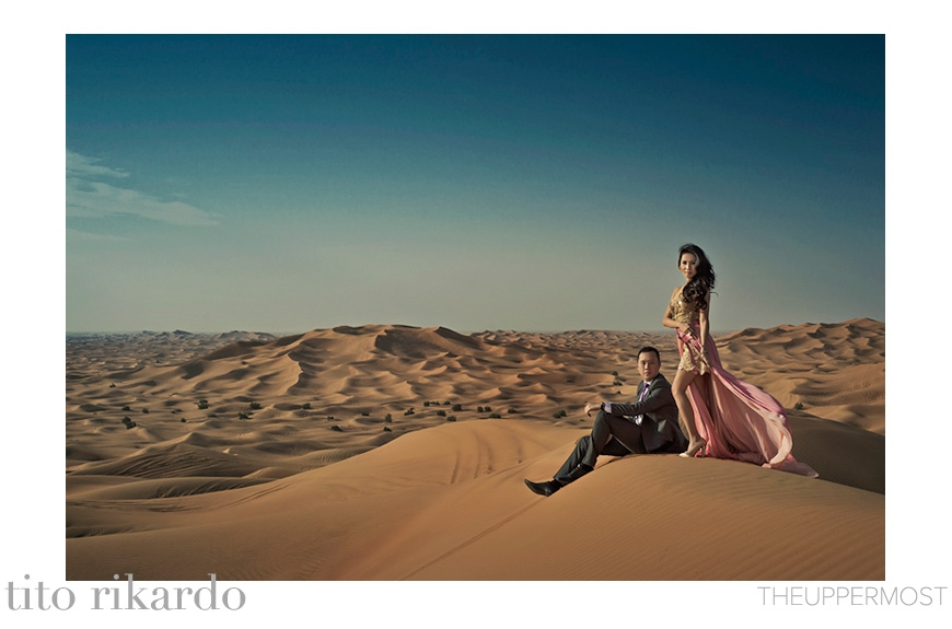 Best Engagement Photo of 2014 - Tito Rikardo of THEUPPERMOST - Indonesia wedding photographer