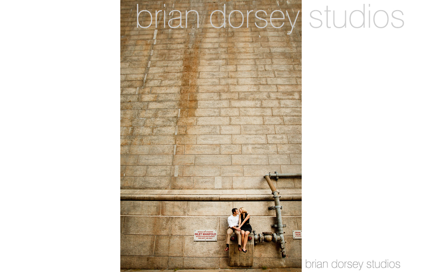 Best engagement photo 2013 - Brian Dorsey Studios - New York