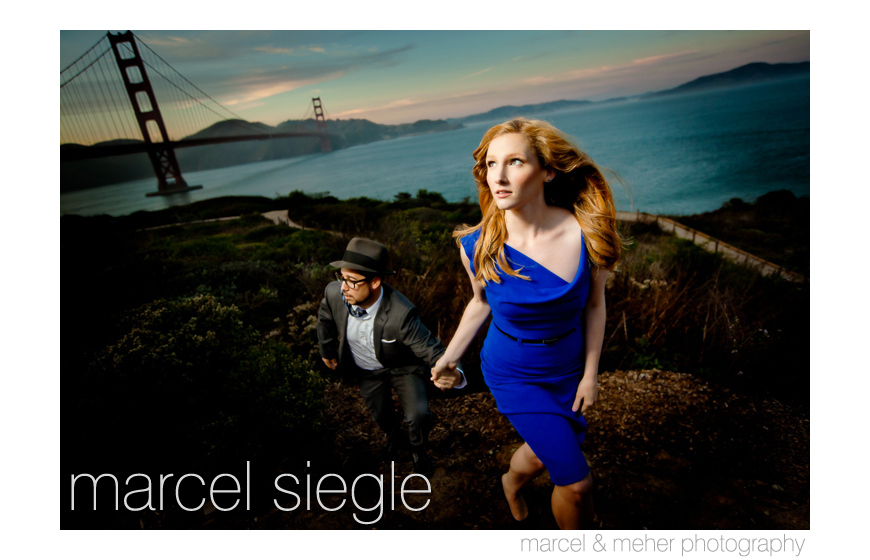 Best engagement photo 2013 - Marcel Siegle of Marcel and Meher Photography - Santa Rosa, California
