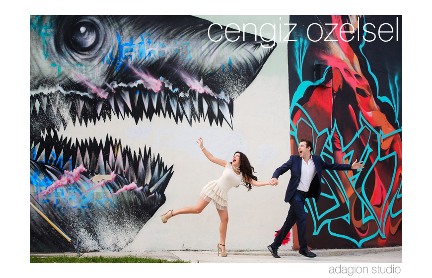 Best engagement photo 2013 - Cengiz Ozelsel of Adagion Studio - Miami, Florida