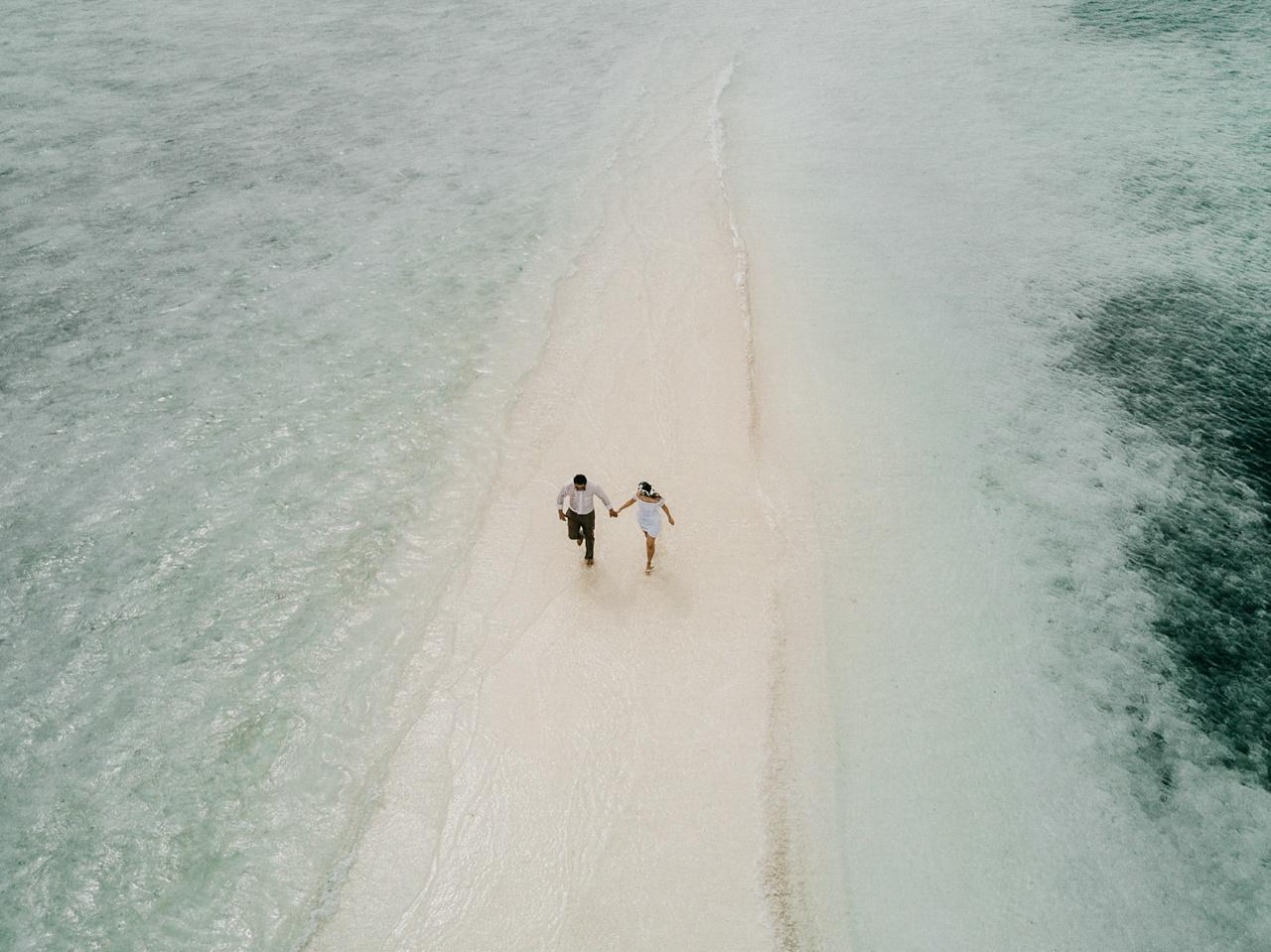 wedding drone photography