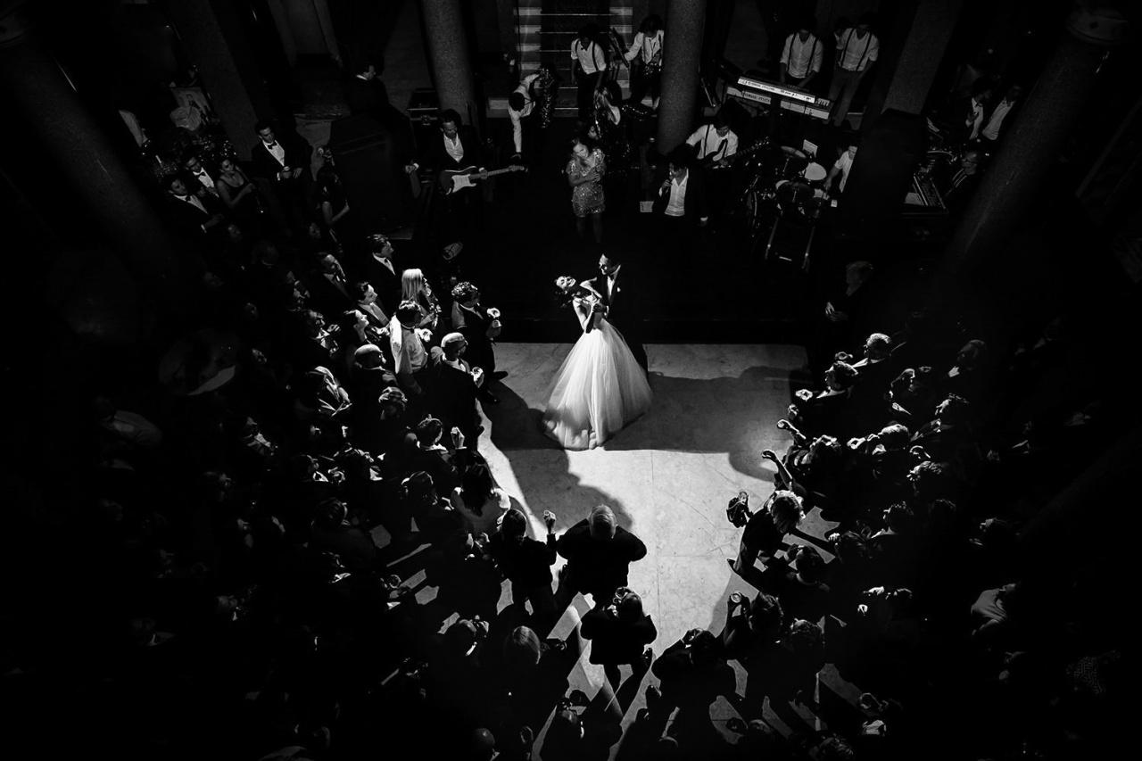 photos of wedding reception