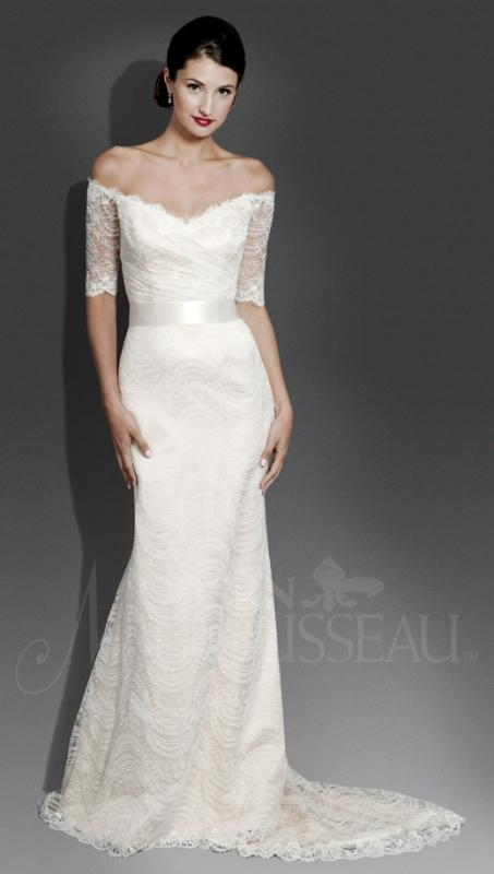 Modern Trousseau - Fall 2014 Bridal Collection - The Aria Dress</p>