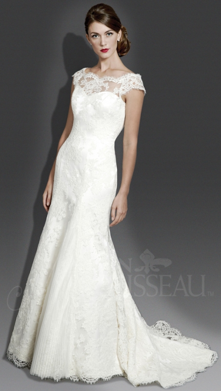 Modern Trousseau - Fall 2014 Bridal Collection - The Erin Dress</p>