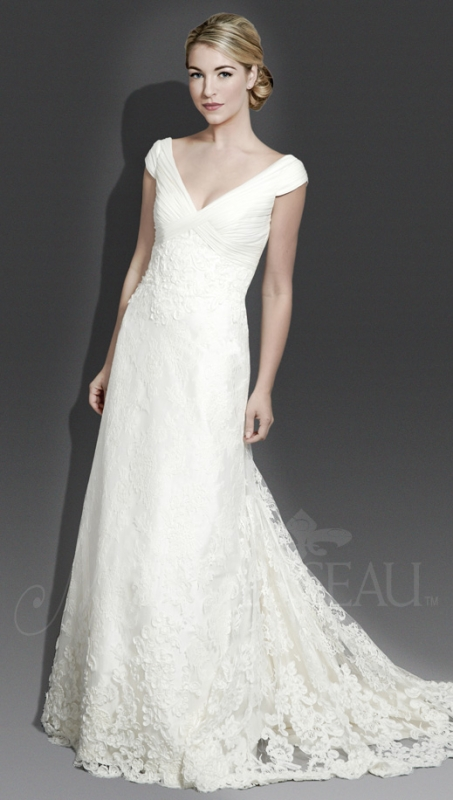 Modern Trousseau - Fall 2014 Bridal Collection - The Iris Dress</p>