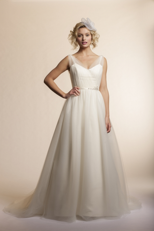 Amy Kuschel - 2013 Bridal Collection - Breeze Wedding Dress