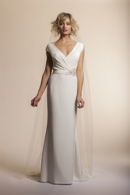 Amy Kuschel - 2013 Bridal Collection - Clover Wedding Dress