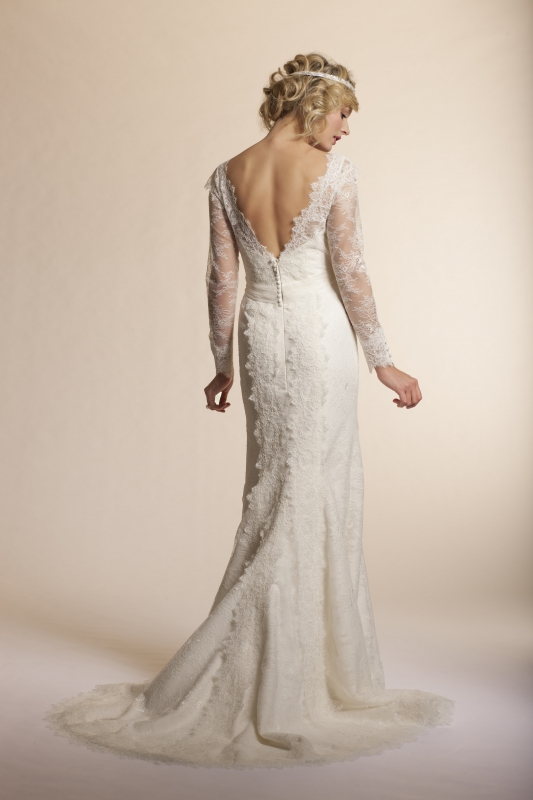 Amy Kuschel - 2013 Bridal Collection - Dahlia Wedding Dress