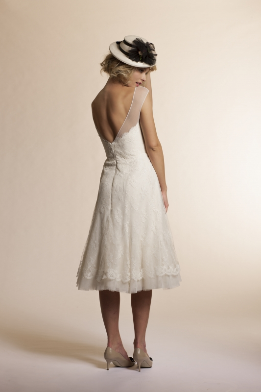 Amy Kuschel - 2013 Bridal Collection - Daisy Wedding Dress