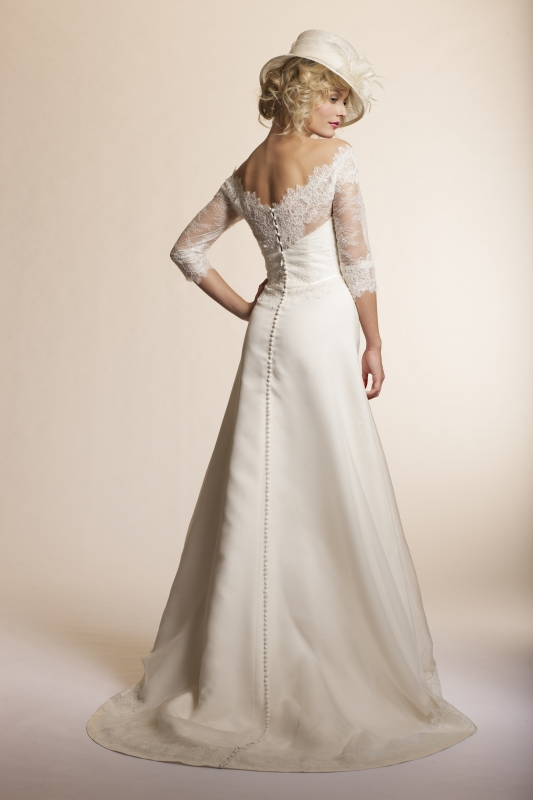 Amy Kuschel - 2013 Bridal Collection - Gardenia Wedding Dress