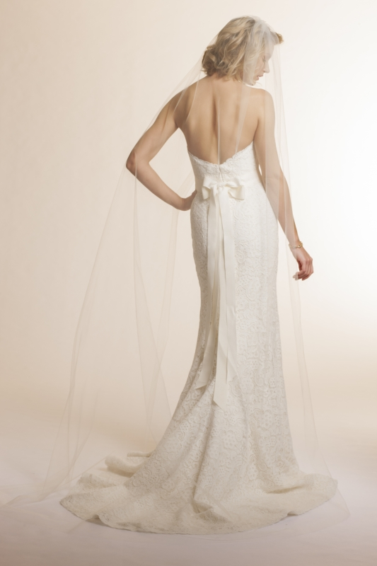 Amy Kuschel - 2013 Bridal Collection - Lavender Wedding Dress