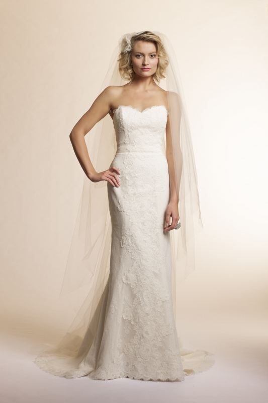 Amy Kuschel - 2013 Bridal Collection - Rosemary Wedding Dress
