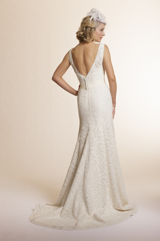 Amy Kuschel - 2013 Bridal Collection - Sage Wedding Dress
