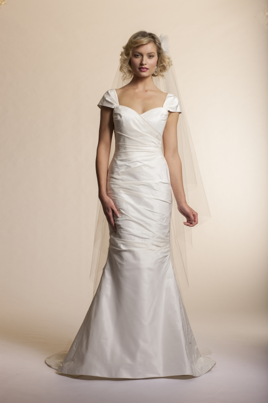 Amy Kuschel - 2013 Bridal Collection - Tulip Wedding Dress