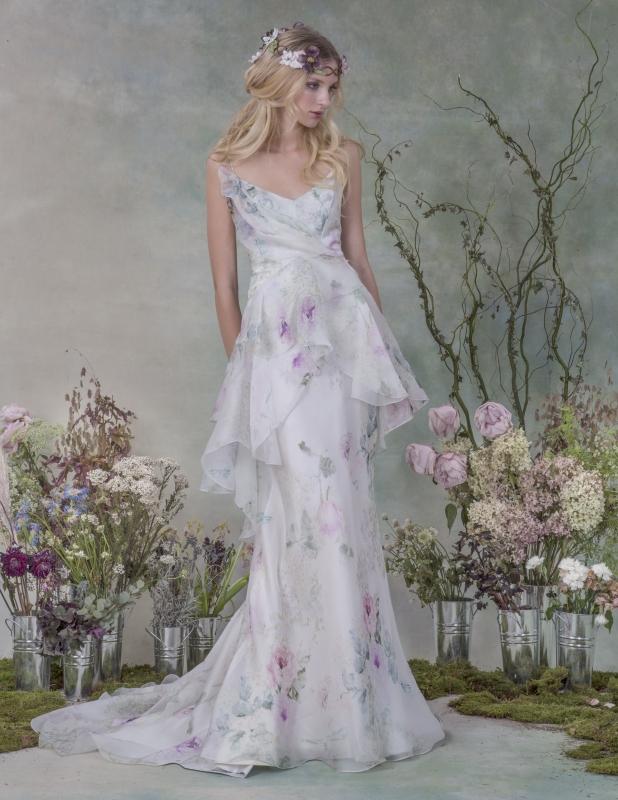 Elizabeth Fillmore Wedding Dresses Fall 2015 Bridal Collection Junebug Weddings