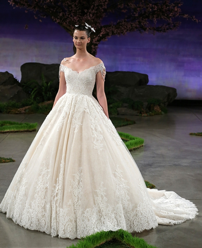 Drop Sleeve Wedding Gowns With: Ines Di Santo Wedding Dresses