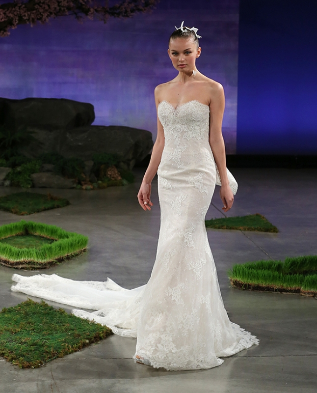 Ines Di Santo - Spring Summer 2016 Couture Bridal Collection - Lara