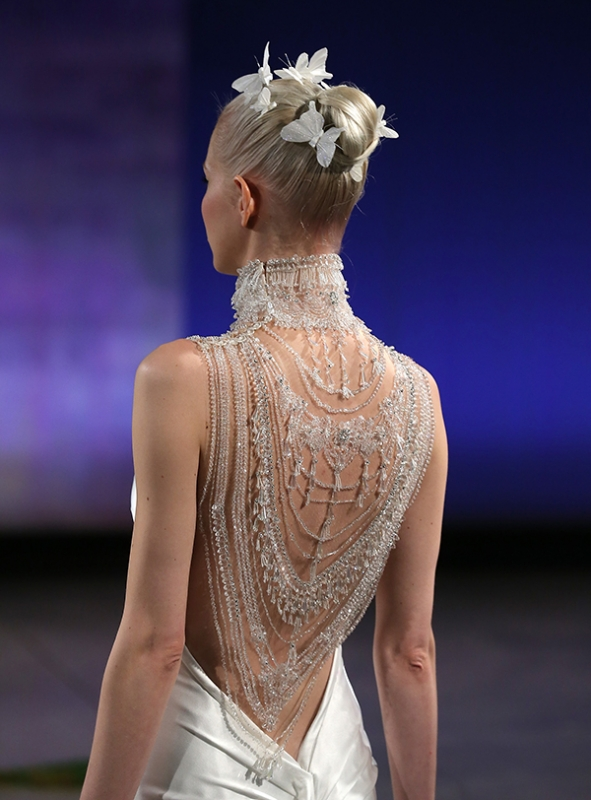 Ines Di Santo - Spring Summer 2016 Couture Bridal Collection - Abigail