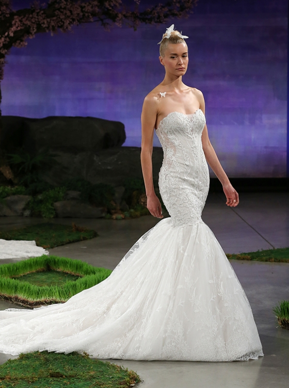 Ines Di Santo - Spring Summer 2016 Couture Bridal Collection - Avril