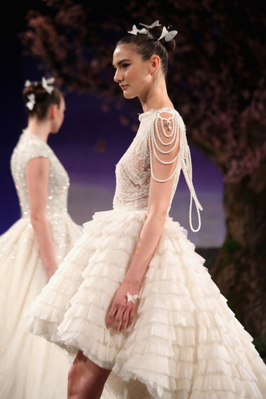 Ines Di Santo - Spring Summer 2016 Couture Bridal Collection - Breeze