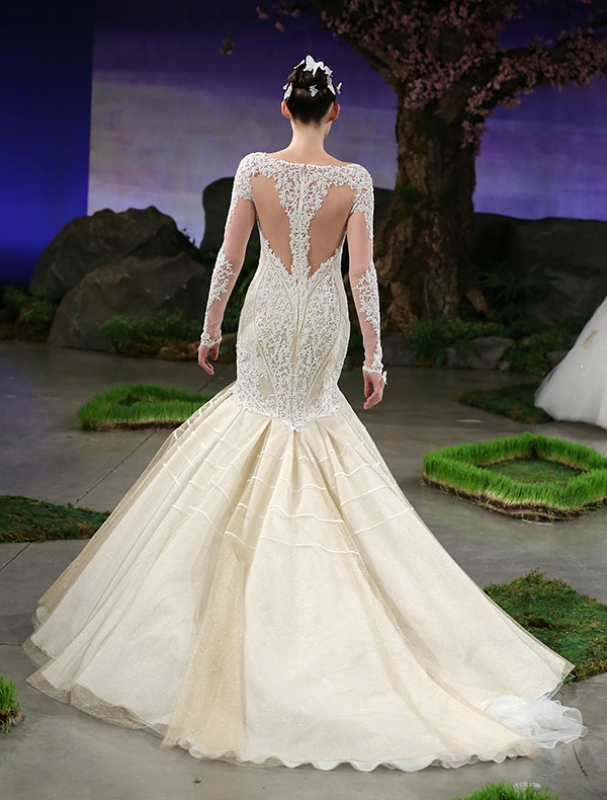 Ines Di Santo - Spring Summer 2016 Couture Bridal Collection - Brie