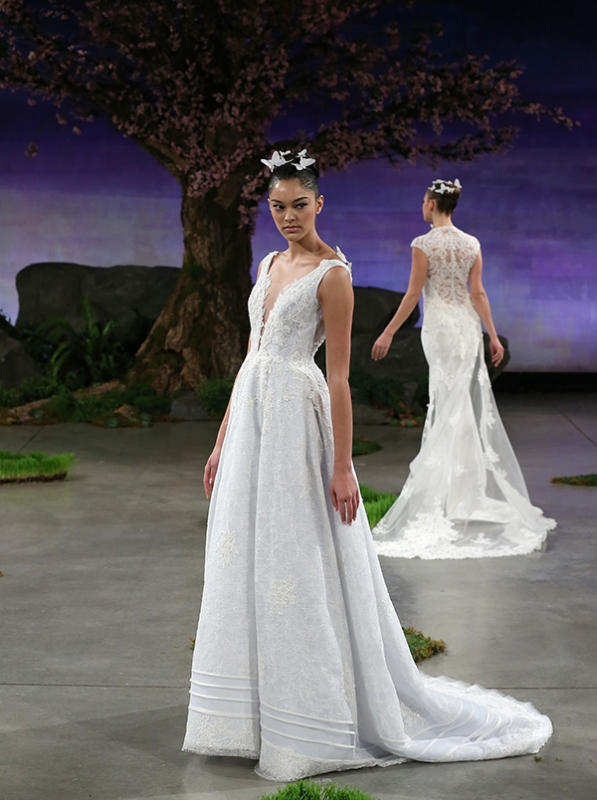 Ines Di Santo - Spring Summer 2016 Couture Bridal Collection - Bluebell