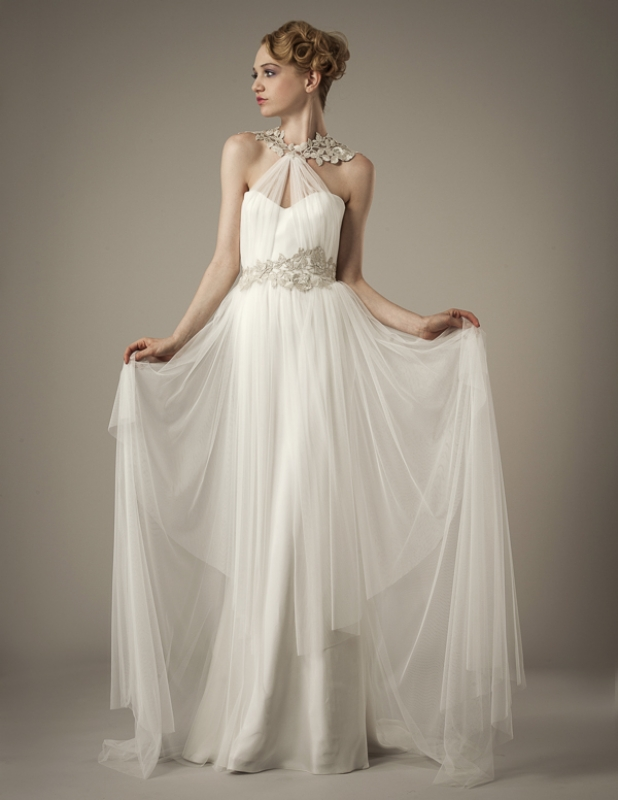 Elizabeth Fillmore Wedding Dresses Spring 2014 Collection