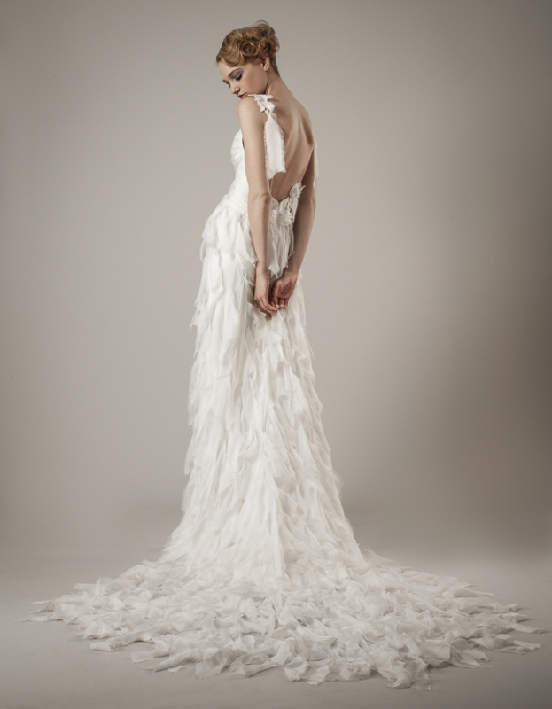 Elizabeth Fillmore - Spring 2014 Bridal Collection - Thea Wedding Dress