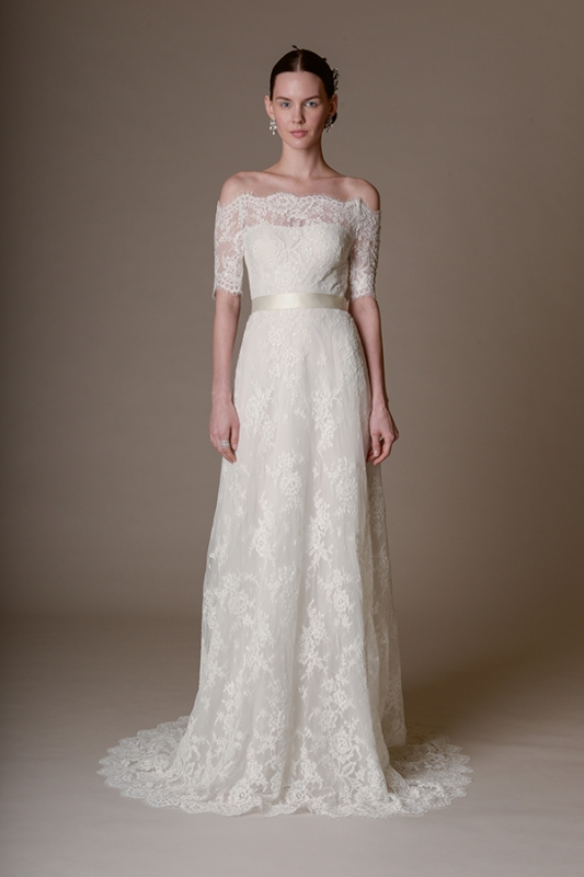 Marchesa - Spring Summer 2016 Bridal Collection - Marchesa Zinnia Gown
