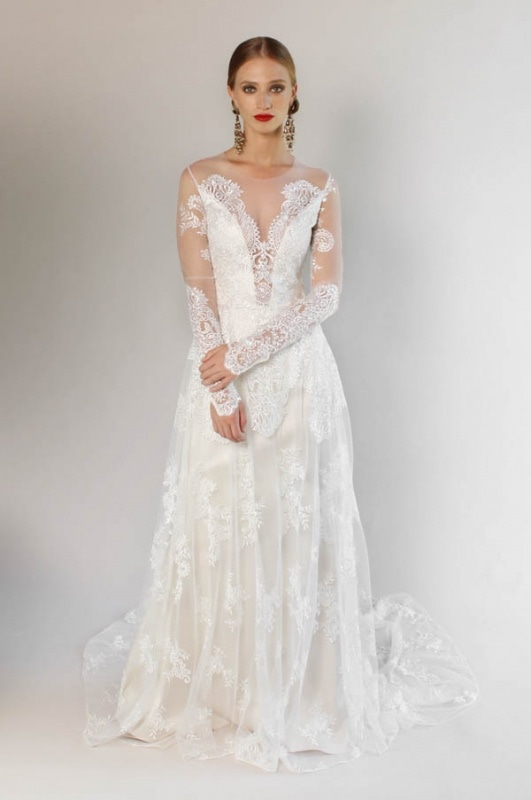 ceae972f6af Claire Pettibone - Spring and Summer 2017 Romantique Collection - Pasadena.  Pasadena