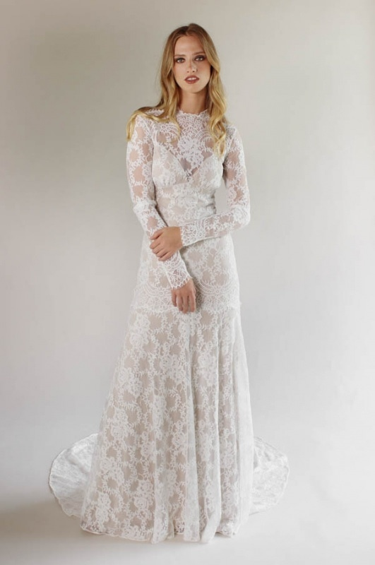Claire Pettibone Wedding Dresses Spring And Summer 2017 Romantique Bridal Collection Junebug